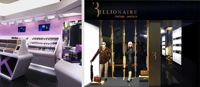 Store KIKO Make Up Milano, Bologna E Flagship Store Billionaire Italian  Couture, London
