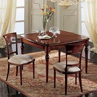 Gardenia tavolo quadrato