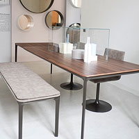 Tavolo rettangolare piano in legno