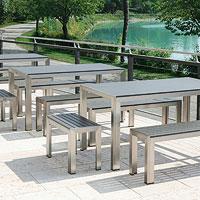 Set tavolo e panche per esterno