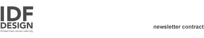 IDFdesign newsletter Contract - Giugno 2016