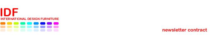 IDFdesign newsletter Contract - Luglio 2015