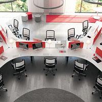 Postazioni operative per uffici moderni