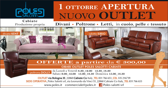 Poles Salotti Srl Outlet