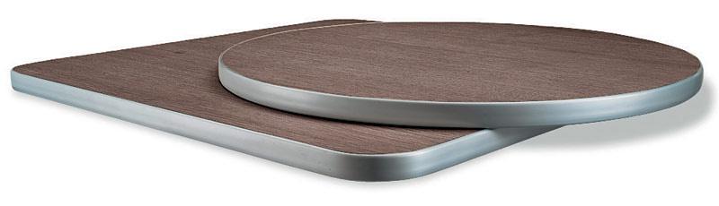 Piani per tavoli in laminato quadrati e tondi idfdesign for Piani cucina quadrati