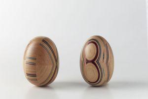 PARTICOLARE INSERTO, Inserto originale in legno