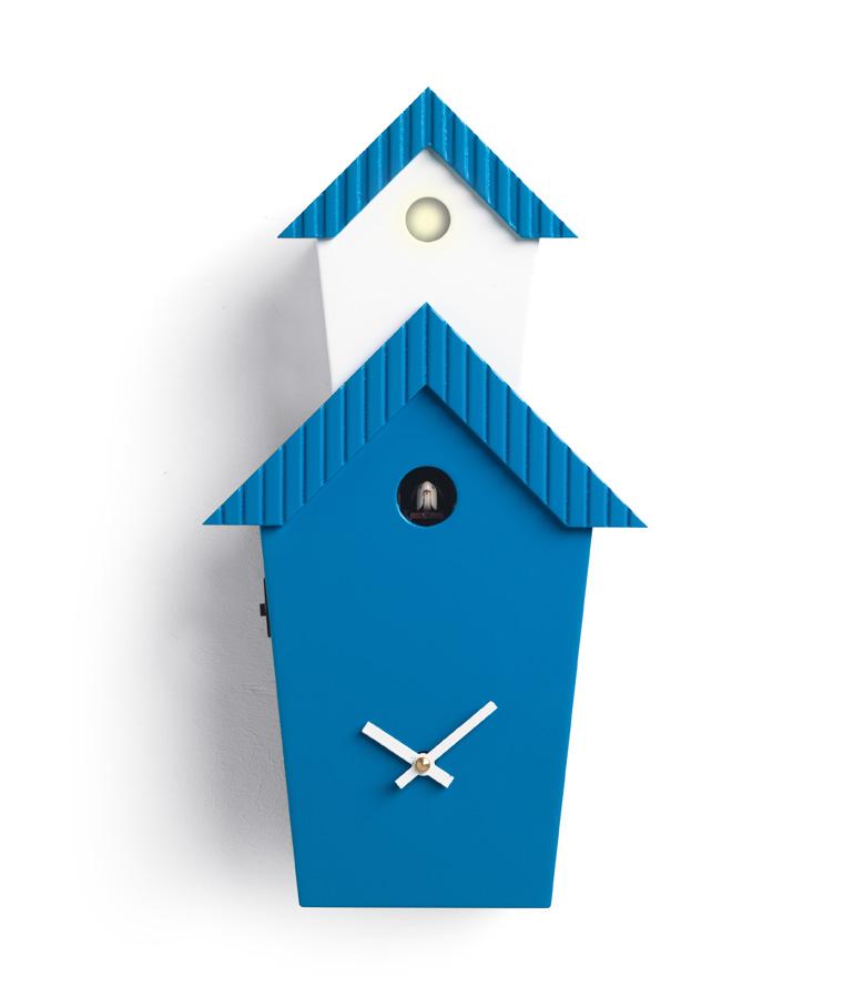 Orologio a cuc da parete in legno per una casa moderna - Orologio cucu design ...