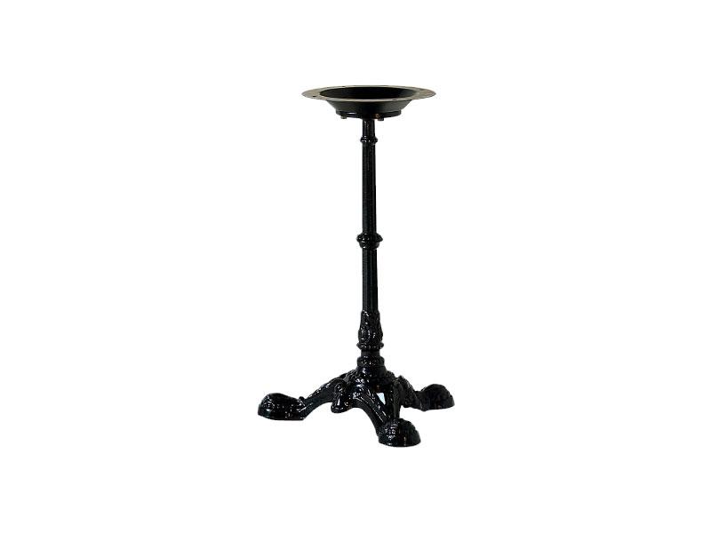 082, Base per tavolino in metallo decorato