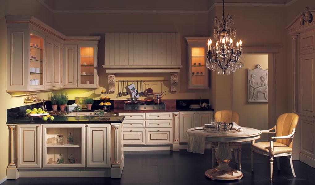 Imperial, Cucina realizzata su misura, stile classico