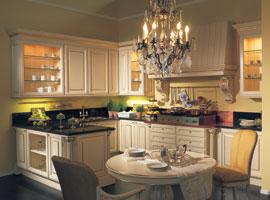 Cucina realizzata su misura stile classico idfdesign - Cucine classiche di lusso ...