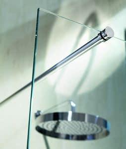 Nike 329-4, Braccetto di supporto per doccia, sezione circolare