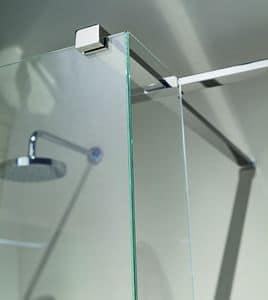 Nike 329-5, Braccetto di supporto per doccia, sezione rettangolare