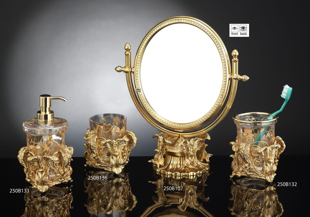 Accessori Bagno Ospedali.Lussuoso Set Di Accessori Bagno In Stile Barocco Idfdesign