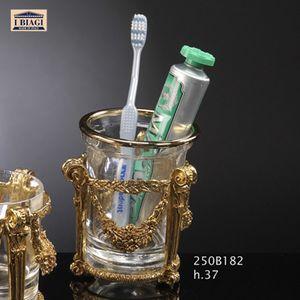 SET BAGNO IMPERO, Collezione di accessori da bagno, in materiali pregiati