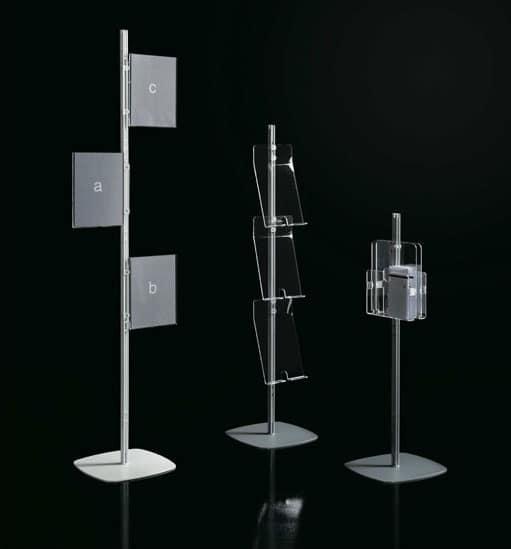 Arianna totem, Sistema modulare di espositori, per uffici pubblici