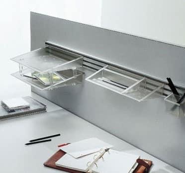 Accessori per l 39 ufficio con sistema di sospensione idfdesign - Accessori per ufficio design ...