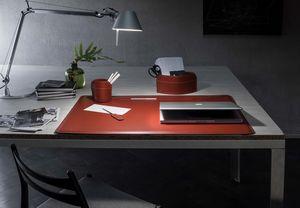 Ebe 4pz, Set da scrivania in cuoio rigenerato