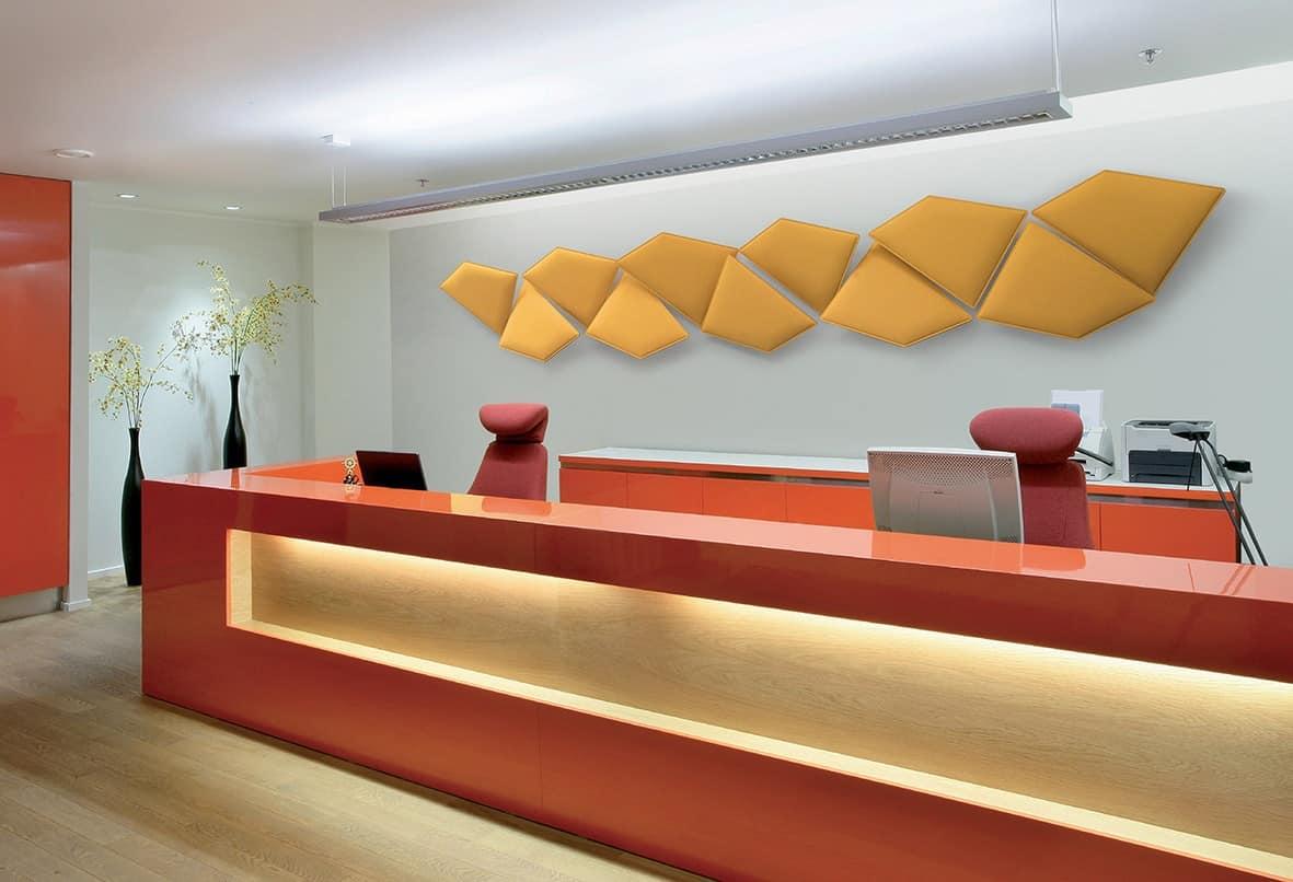 Pannello fonoassorbente modulare per ufficio e casa idfdesign - Pannelli fonoassorbenti decorativi ...
