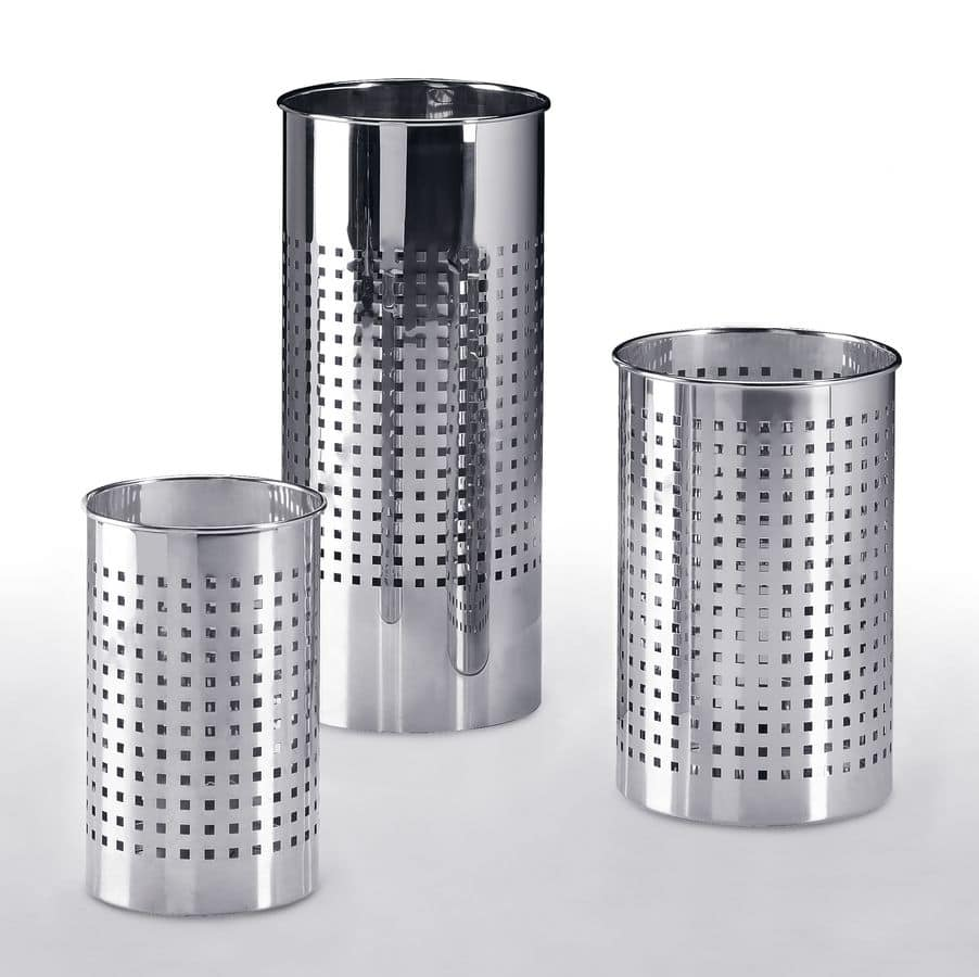 JOKER 610 611 612, Portaombrelli e cestini in acciaio, varie misure
