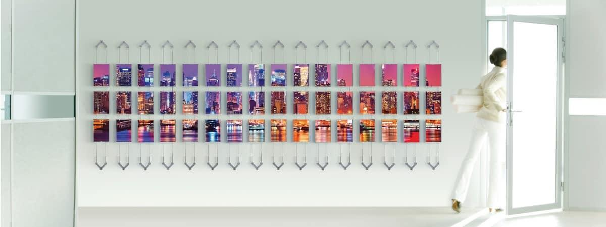 Accessori per l 39 ufficio sistema di segnaletica con espositori idfdesign - Accessori per ufficio design ...