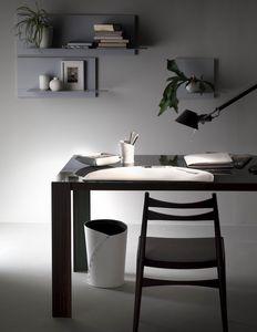 Medea 4pz, Set in cuoio per scrivania