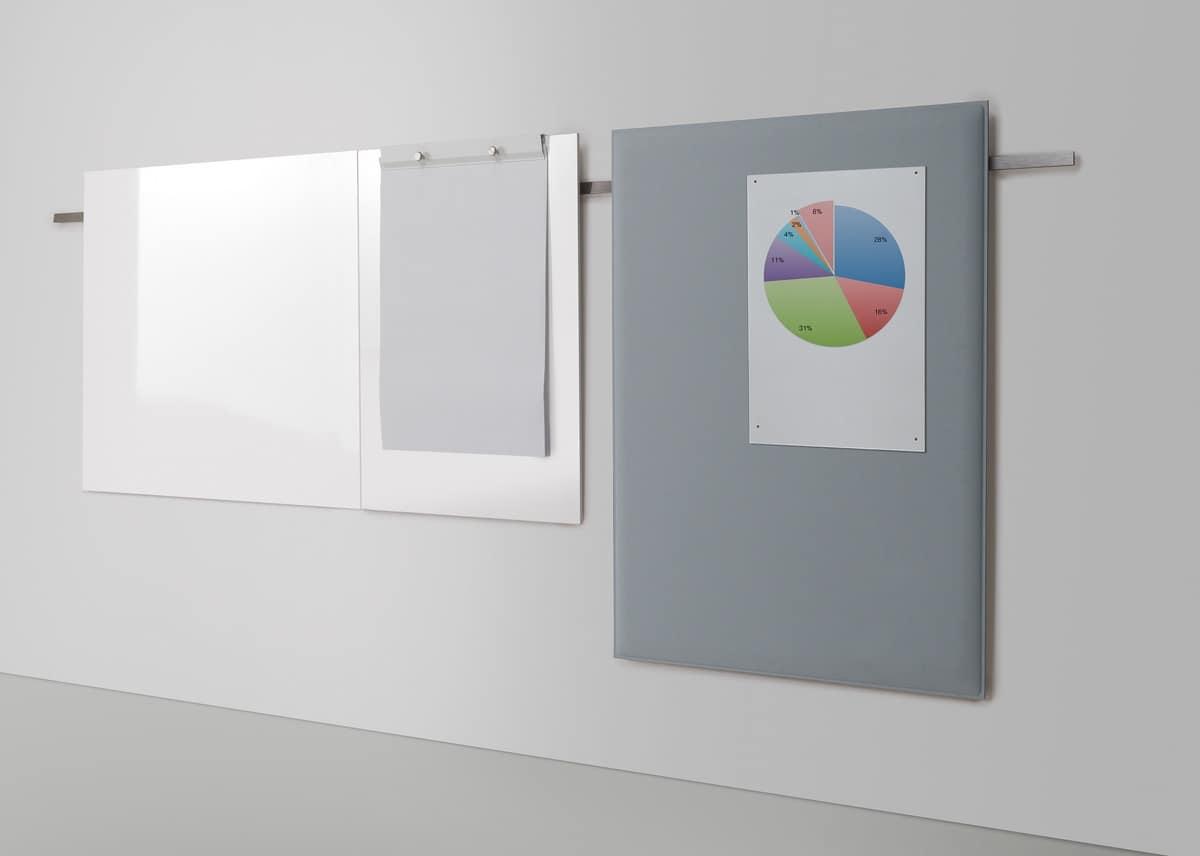 Meeting, Sistema di espositori e lavagne, per uffici pubblici