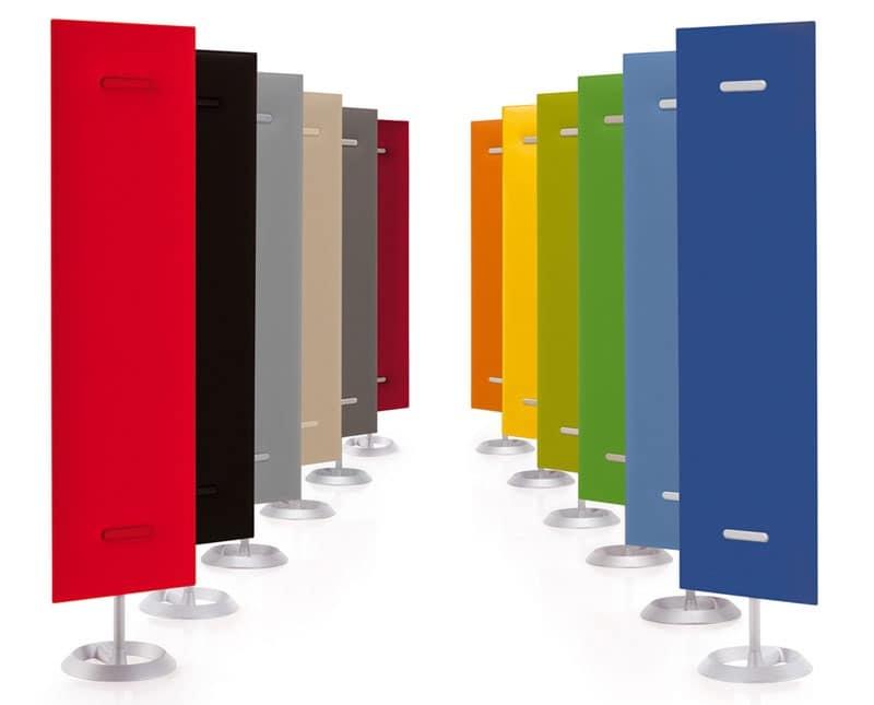 Pannelli fonoassorbenti multicolore da parete idfdesign for Pannelli fonoassorbenti bricoman