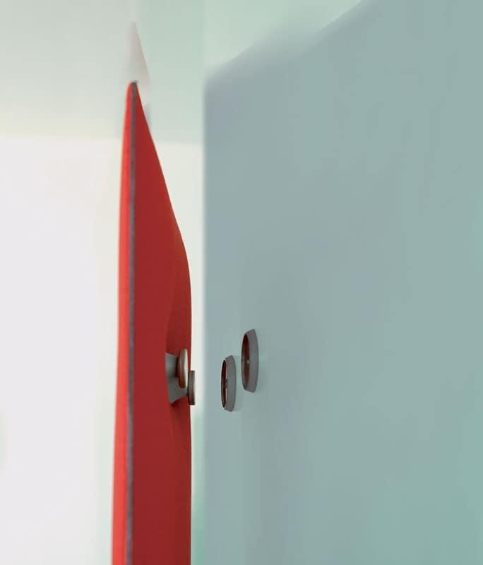 Mitesco 5 pannelli fonoassorbenti senza cornici e cuciture idfdesign - Accessori per ufficio design ...