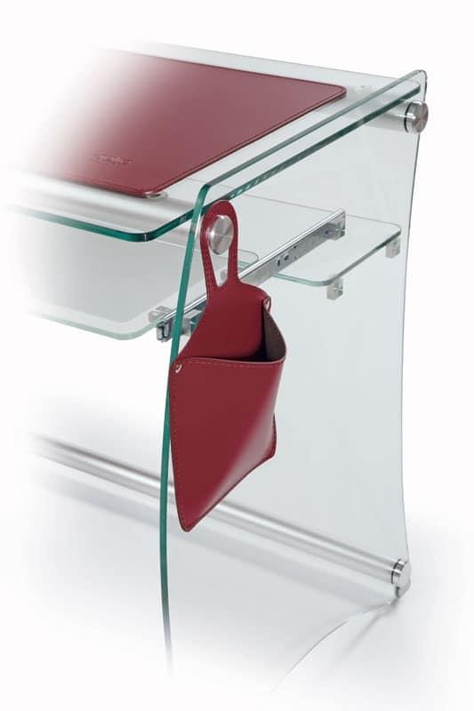 Trucco porta mouse accessori in cuoio accessori - Accessori per ufficio design ...
