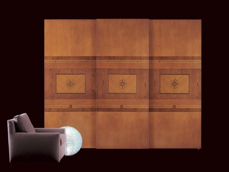 Armadio classico con ante scorrevoli illuminazione - Carpanelli mobili ...