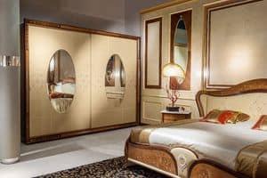 AR21 Armadio Arts a due ante, Armadio classico di lusso adatto per camere albergo