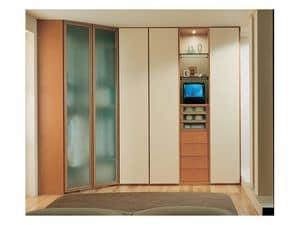 Immagine di Armadio 45, armadio legno decorato