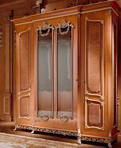 Art. 800/W1, Armadio guardaroba classico di lusso, con specchi