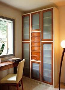 Immagine di Telaro PC363, guardaroba legno decorato