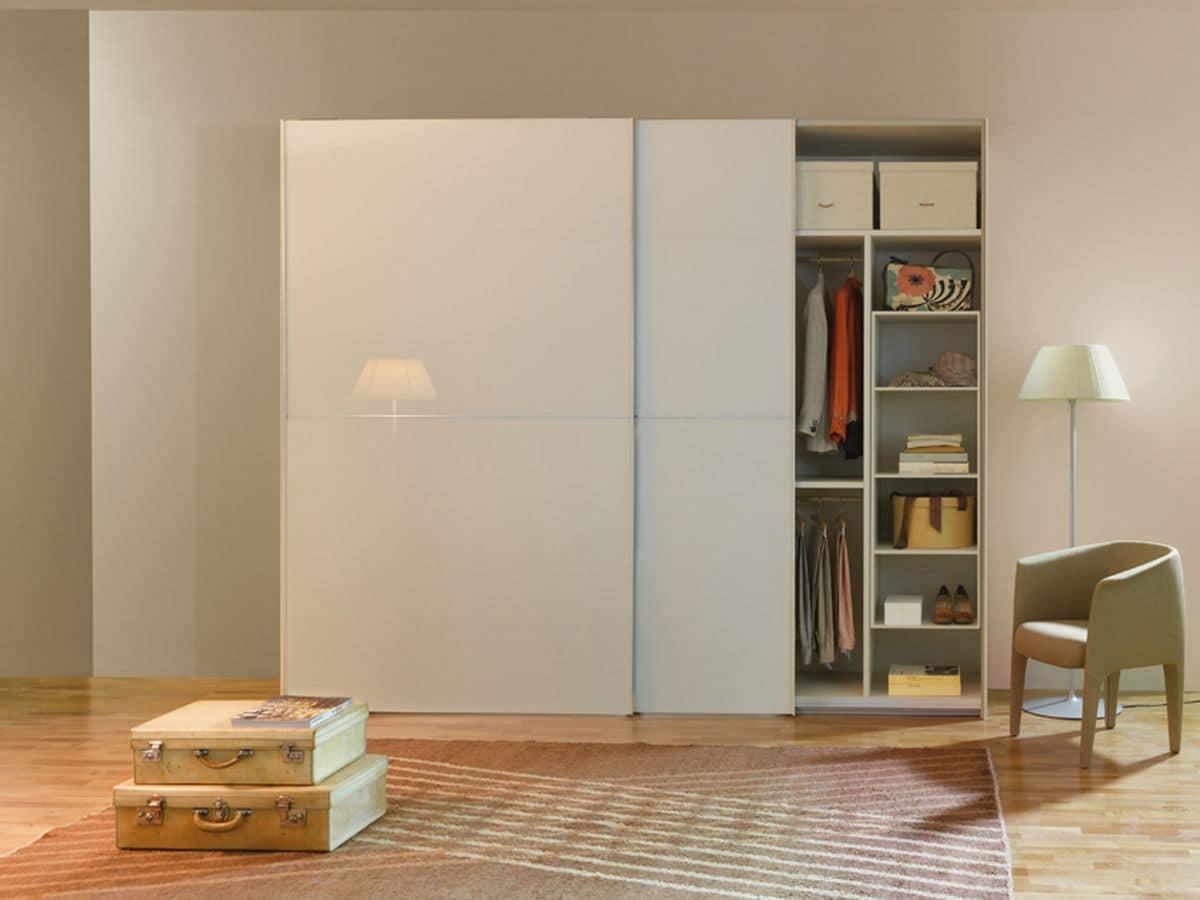Armadio ad ante scorrevoli design moderno per camere da - Camere da letto design moderno ...