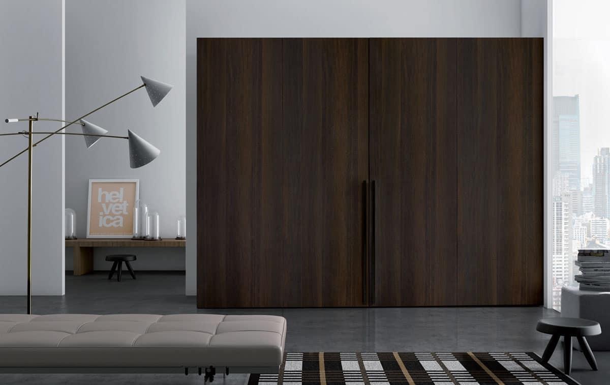 Plana, Armadio semplice e versatile, personalizzabile, Area guardaroba