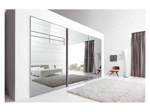 Immagine di Anta Scorrevole Crystal 1, armadi modulari