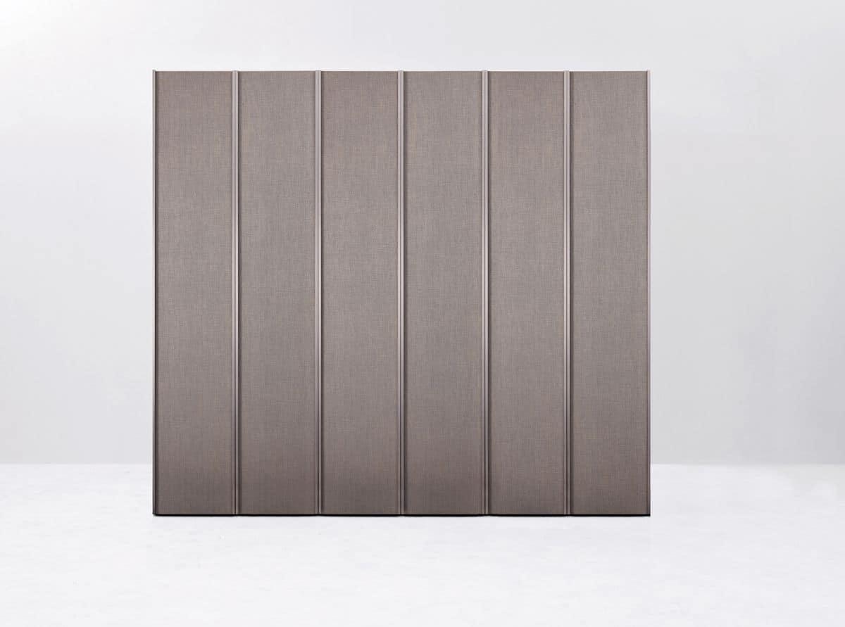 Armadio a muro moderno ideale per camere da letto o cabine armadio ...