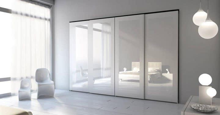 Armadio moderno per camere da letto, armadio con ante scorrevoli per ...