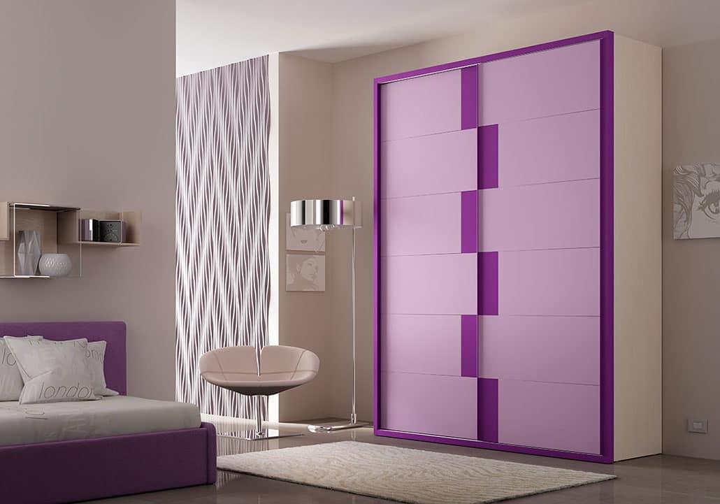 Armadi colorati ingresso armadi camere da letto armadi for Armadi design online