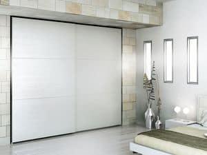 Armadio Zen 11, Armadio moderno, materiali durevoli, per alberghi