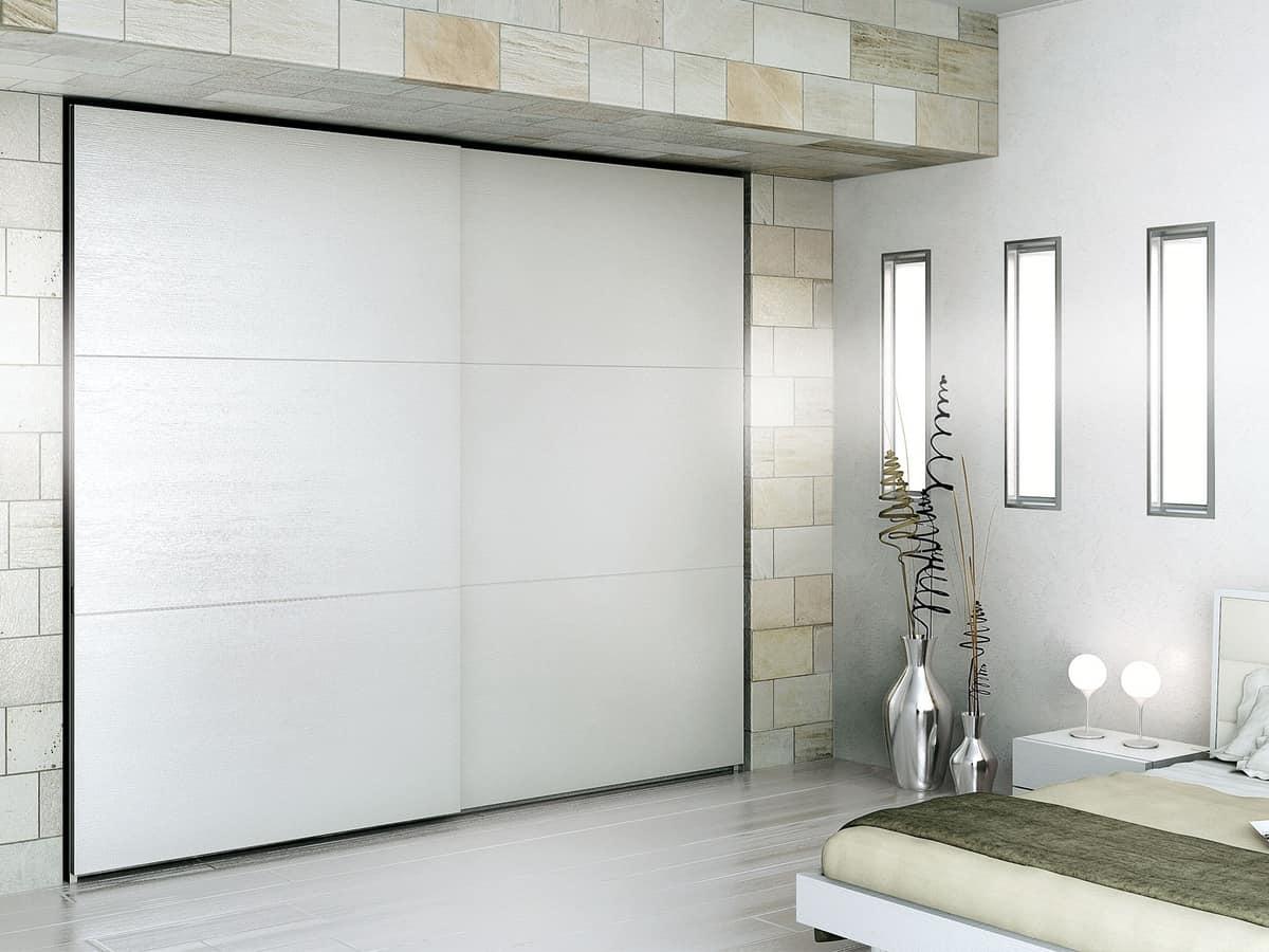 Armadio Moderno : Armadio moderno materiali durevoli per alberghi idfdesign