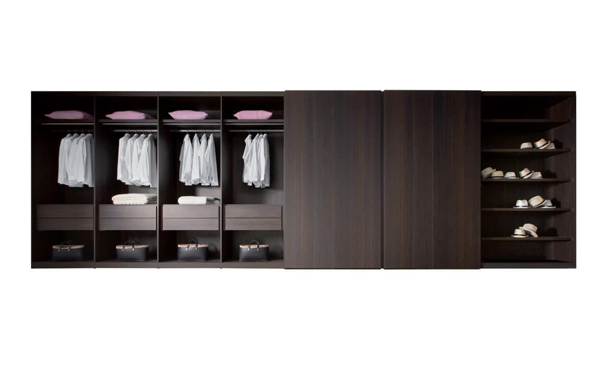 Accessori per cabine armadio ripiani e cassettiere - Attrezzature cabine armadio ...