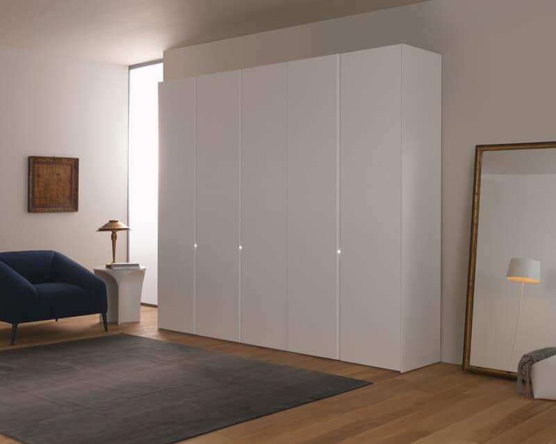Bianco, Armadio lineare, disponibile in varie dimensioni