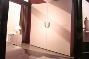 Butterfly, Armadio con 2 ante scorrevoli, per alberghi di lusso