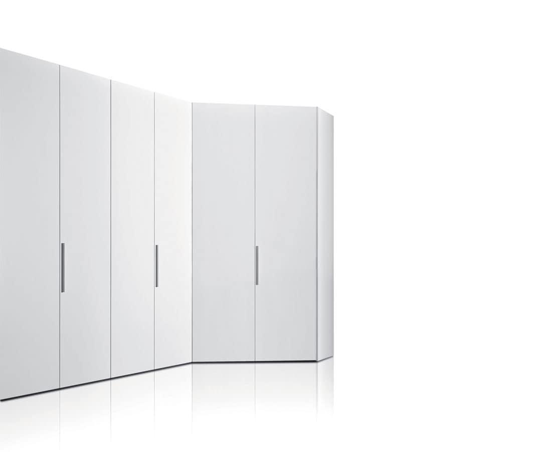 armadio modulare su misura, per camera da letto | idfdesign - Misure Armadio Camera Da Letto