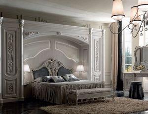 Luigi XVI Art. ARP01/L/440, Elegante armadio a ponte, stile classico
