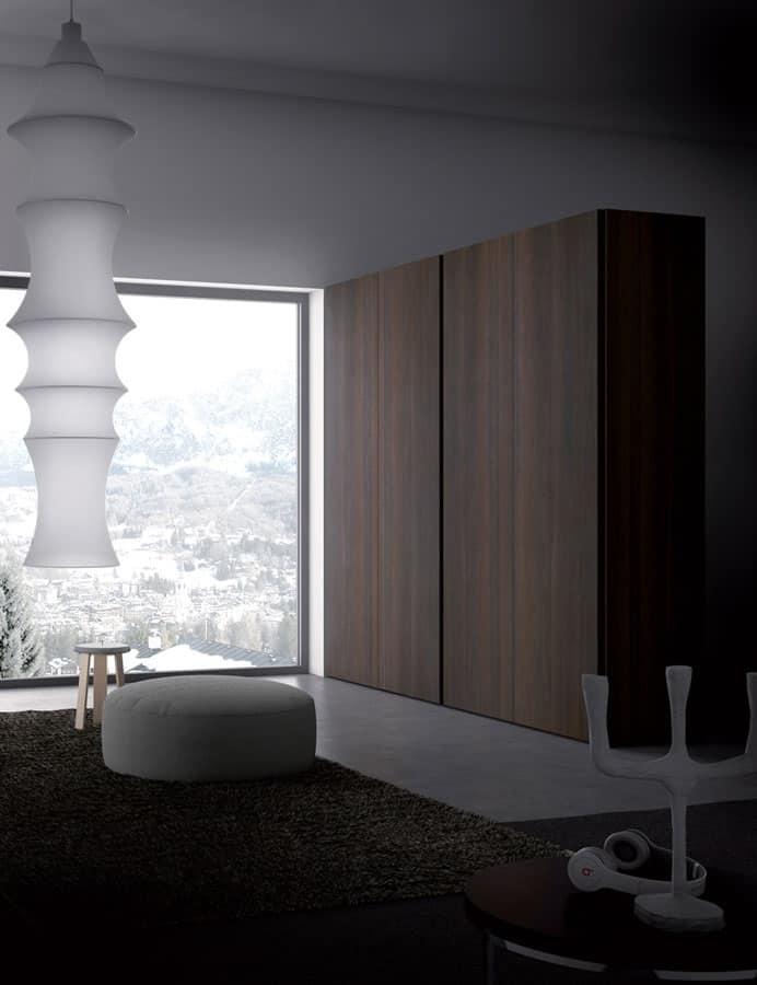 Armadio per camera da letto stile moderno idfdesign - Armadi design moderno ...