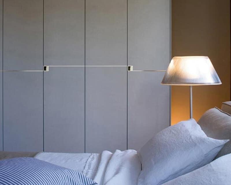 Querini, Armadi contenitore, ante scorrevoli, per camere da letto moderne