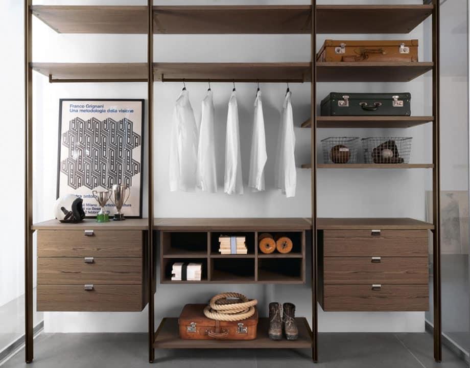Solo a soffitto arredo design per cabina armadio cabina for Arredo cabina armadio